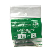 Joy Fish Bass Cast Sinkers - Sold by Single Pack