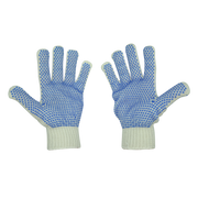 Joy Fish Blue Dot PVC Gloves - Lee Fisher Sports