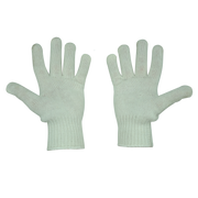 Joy Fish White Nylon/Polyester Gloves - Lee Fisher Sports