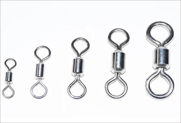 Stainless Steel Cast Net Swivels - Lee Fisher Sports