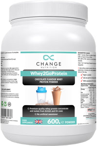 Whey2Go Premium Protein Chocolate or Vanilla FREE SHIPPING
