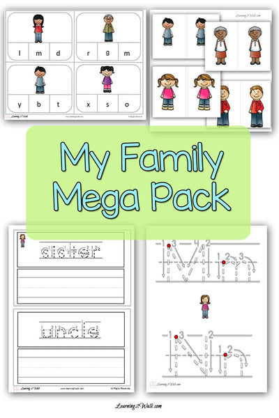 All About My Family Mega Pack