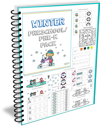 Winter Preschool/ Pre-k Pack