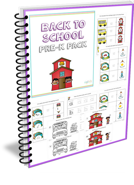 Back to School Pre-K Pack