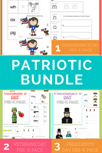 3 in 1 Patriotic Bundle