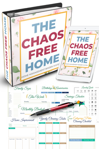 The Chaos Free Home - Digital Home Management Binder