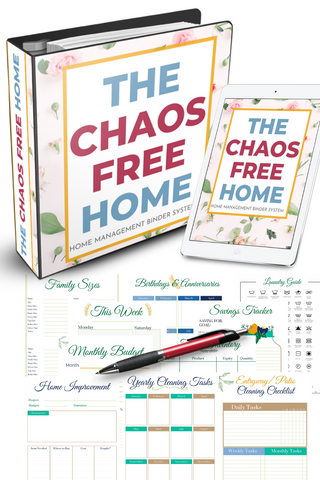 The Chaos Free Home - Digital Home Management Binder (tw)