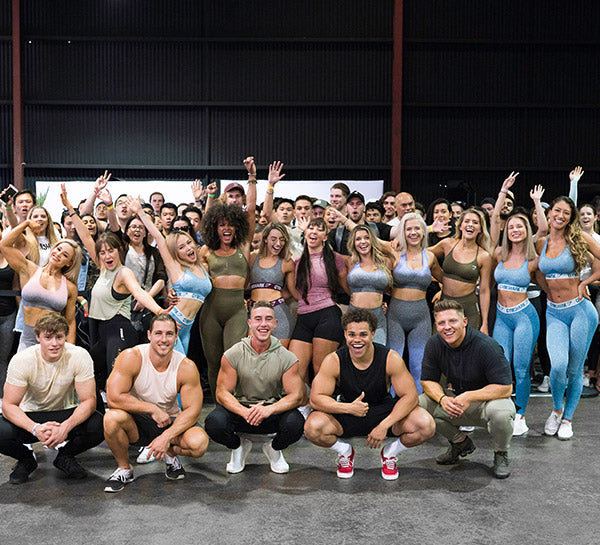Gymshark melbourne day two news gym fitness