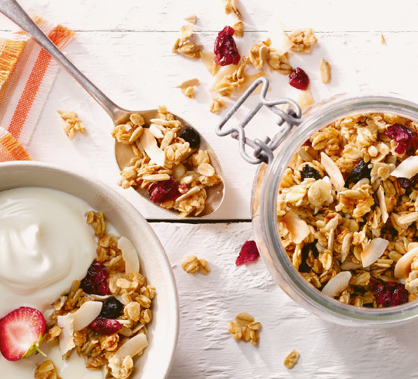 Healthy snack recipes you need to try | Sunflower Seed and Maple Granola