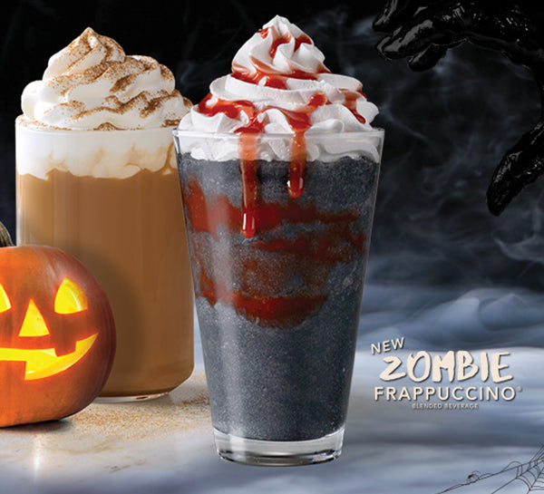 Everything you need to know about the new Starbucks' Charcoal Zombie Frappuccino