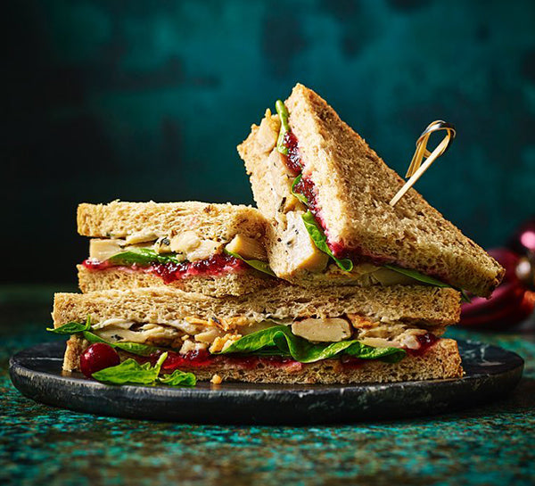 Marks and Spencer's have launched their first vegan Christmas Sandwich for World Vegan Day