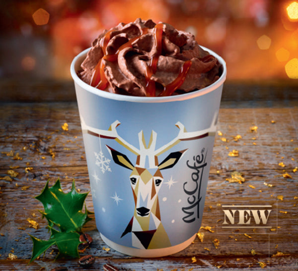 McDonald's have launched their 2018 Christmas drink, and it sounds delicious
