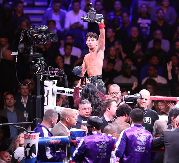 Ryan Garcia Knocks Out Braulio Rodriguez