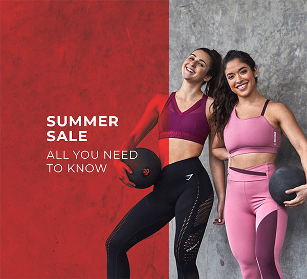 f1c0ddbf451fa1 Gymshark Summer Sale | All You Need To Know