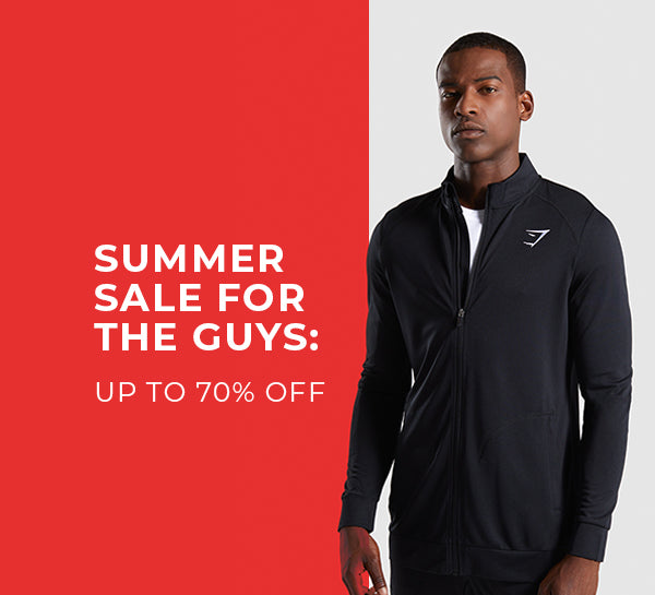 e097d31ba696b6 For The Guys: Up To 70% Off | Gymshark Central
