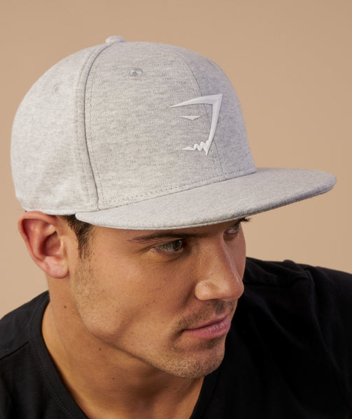 Gymshark Jersey Snapback - Light Grey Marl 3