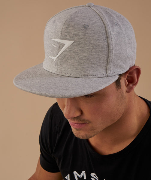 Gymshark Jersey Snapback - Light Grey Marl 4