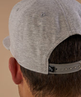 Gymshark Jersey Snapback - Light Grey Marl 12