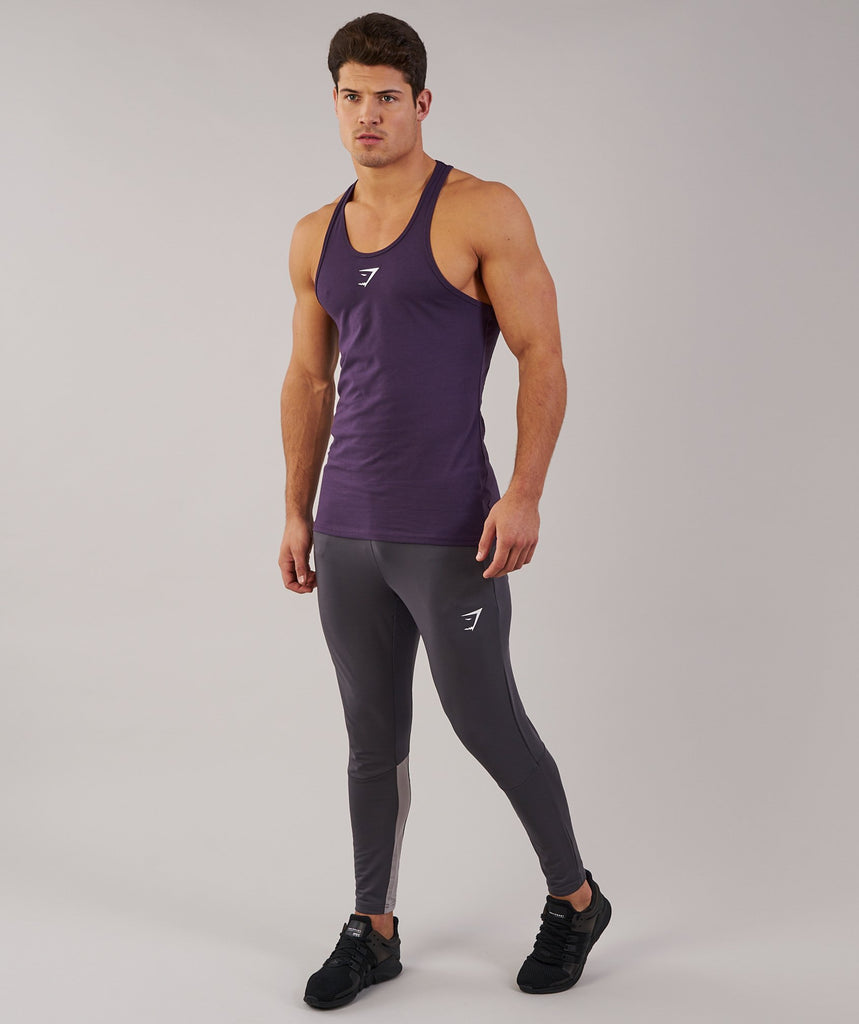 Gymshark Ion Stringer - Nightshade Purple 1
