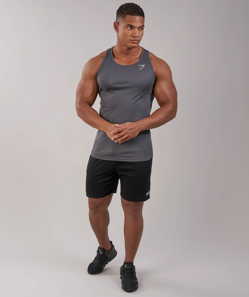 Gymshark Ability Tank - Charcoal 1