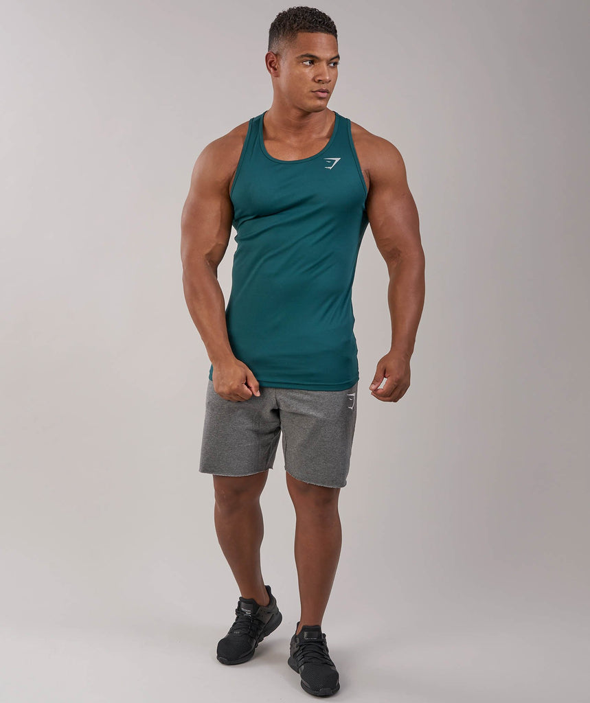 Gymshark Ability Tank - Forest Green 1