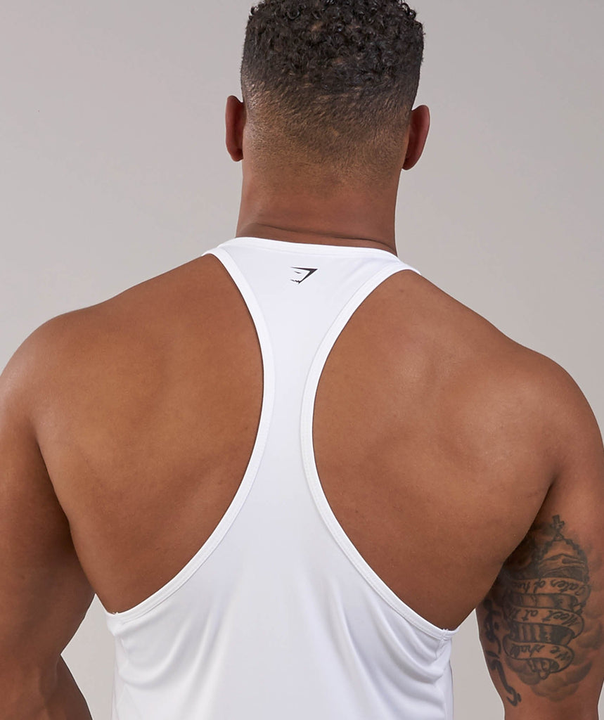 Gymshark Ability Stringer - White 6