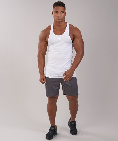 Gymshark ION Stringer - White 4