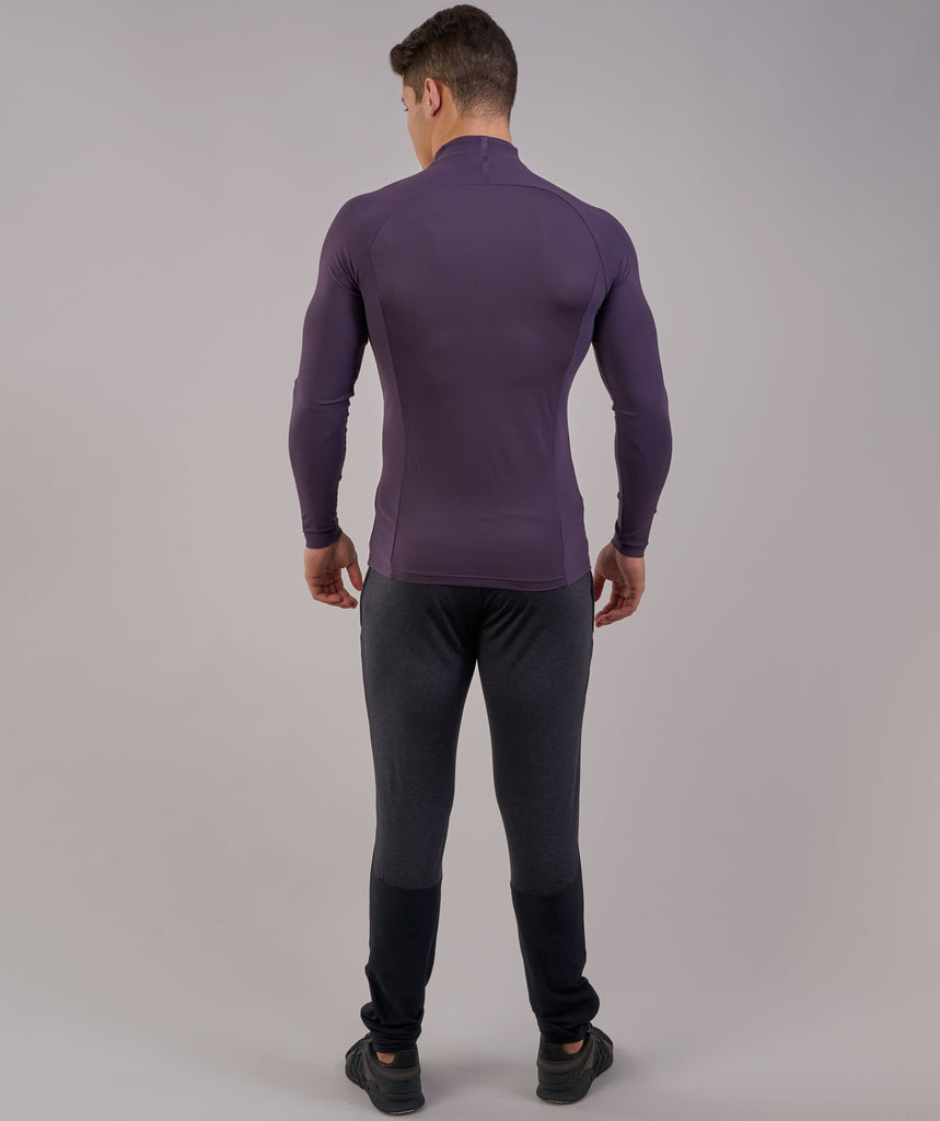 Gymshark Edge 1/4 Zip Pullover - Nightshade Purple 2