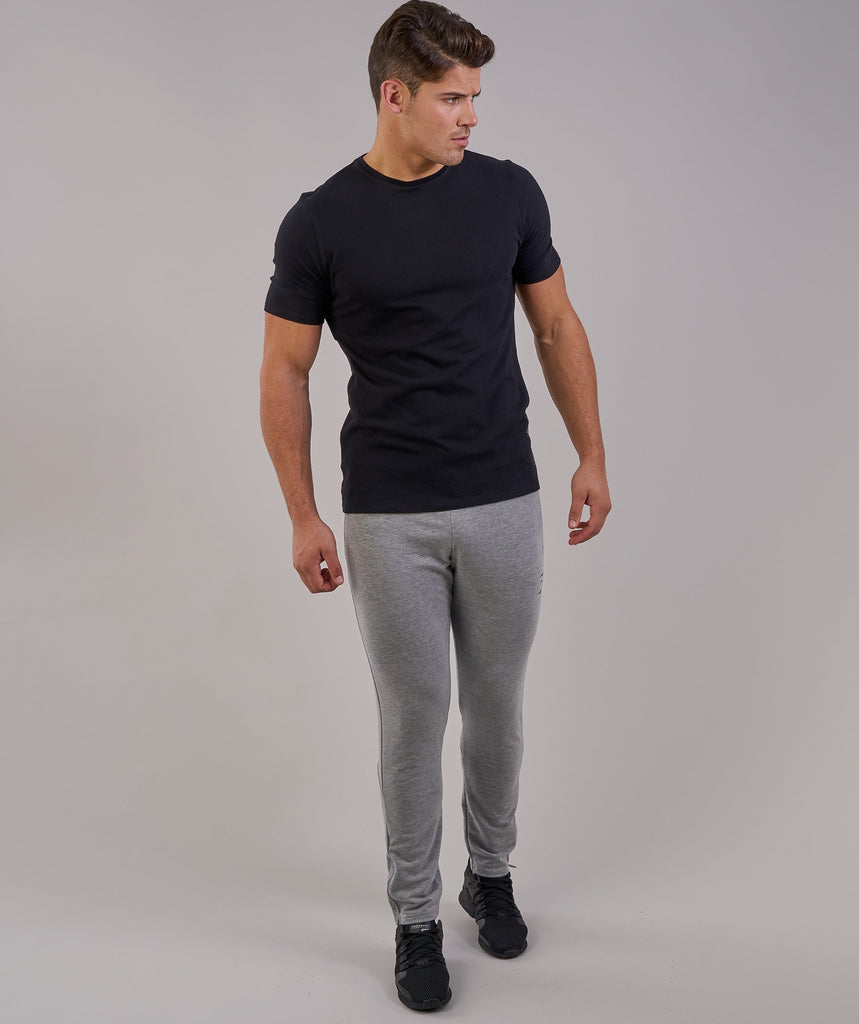 Gymshark Brushed Cotton T-Shirt - Black 1