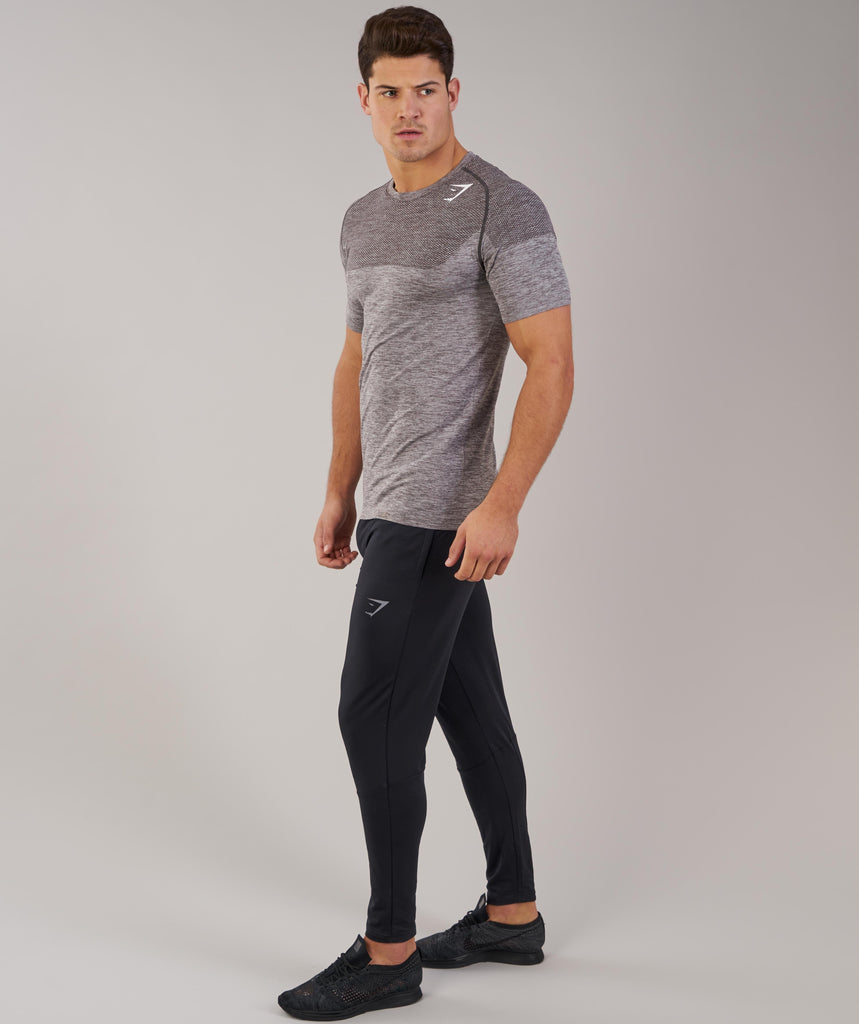 Gymshark Phantom Seamless T-Shirt - Slate Grey Marl 1