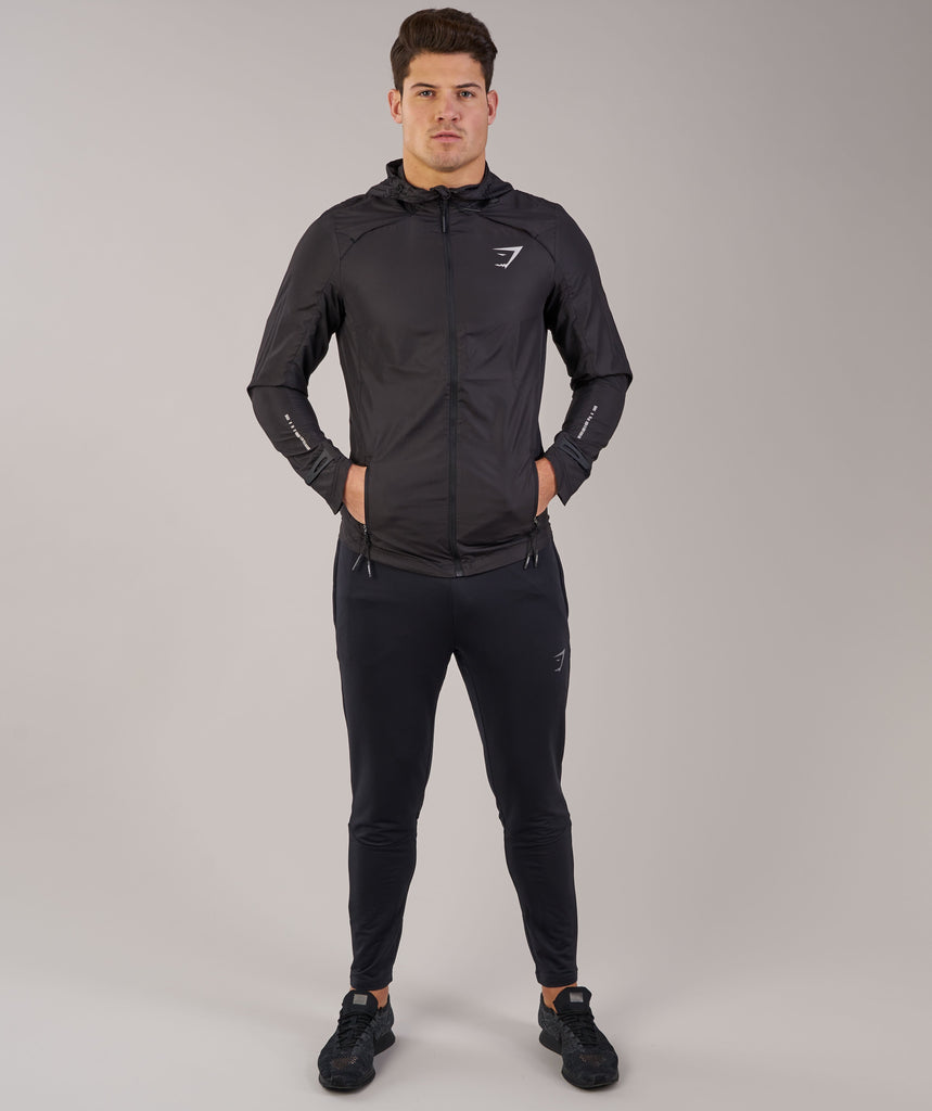 Gymshark Distance Running Jacket - Black 2