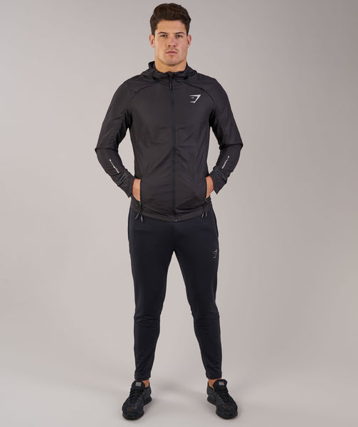 Gymshark Distance Running Jacket - Black 1