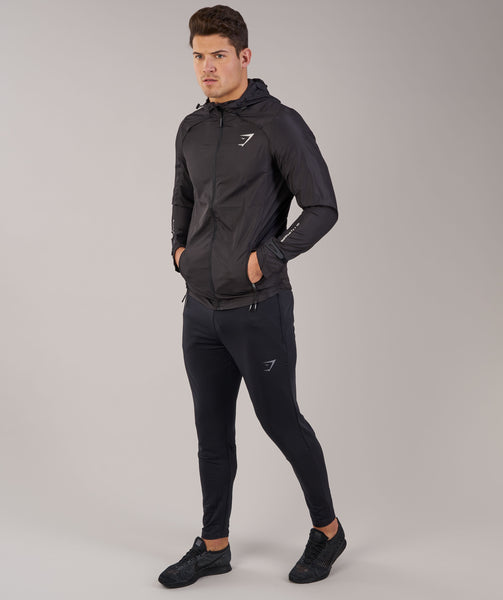Gymshark Distance Running Jacket - Black 4
