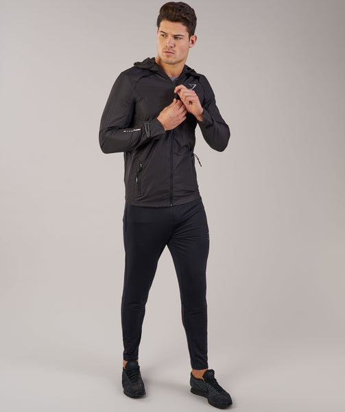 Gymshark Distance Running Jacket - Black 3