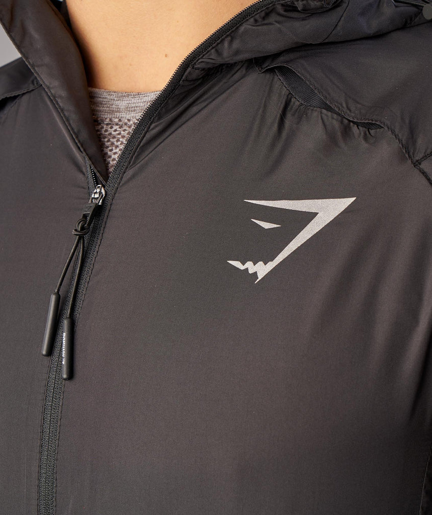 Gymshark Distance Running Jacket - Black 5