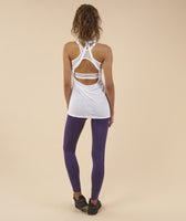 Gymshark Open Back Vest - White 8