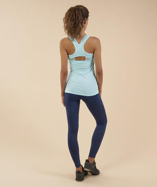 Gymshark Tempo Vest - Pale Turquoise 1