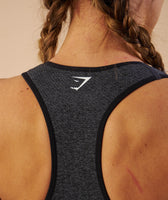 Gymshark Vital Seamless Sports Bra - Black Marl 11