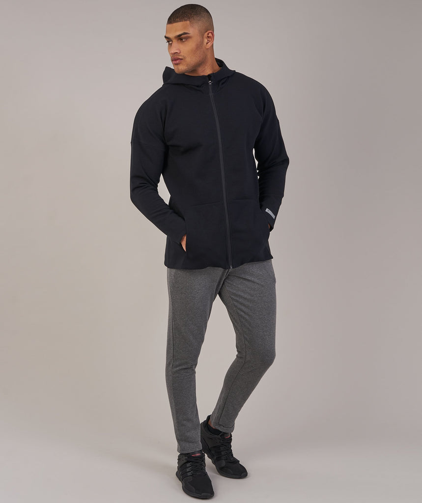 Gymshark Fully Fused Zip Hoodie - Black 1