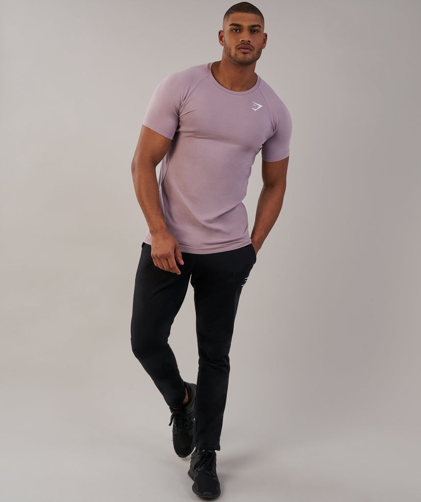 Gymshark Form T-Shirt - Purple Chalk 1