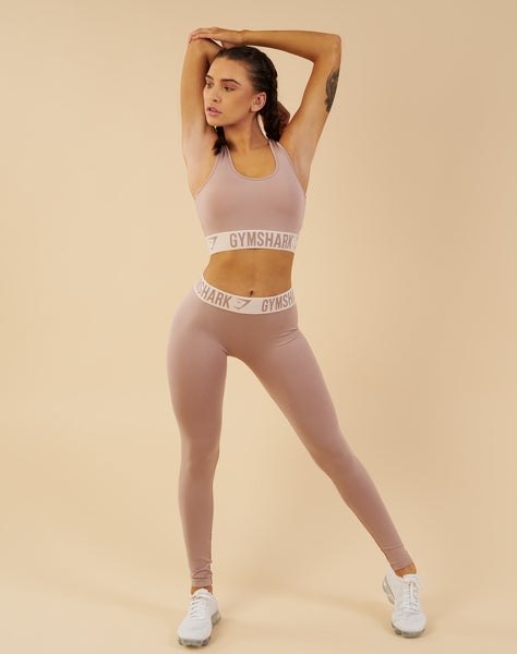 Gymshark Fit Leggings - Taupe/Sand 2