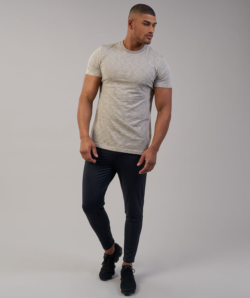 Gymshark Heather T-Shirt - Chestnut Marl 1