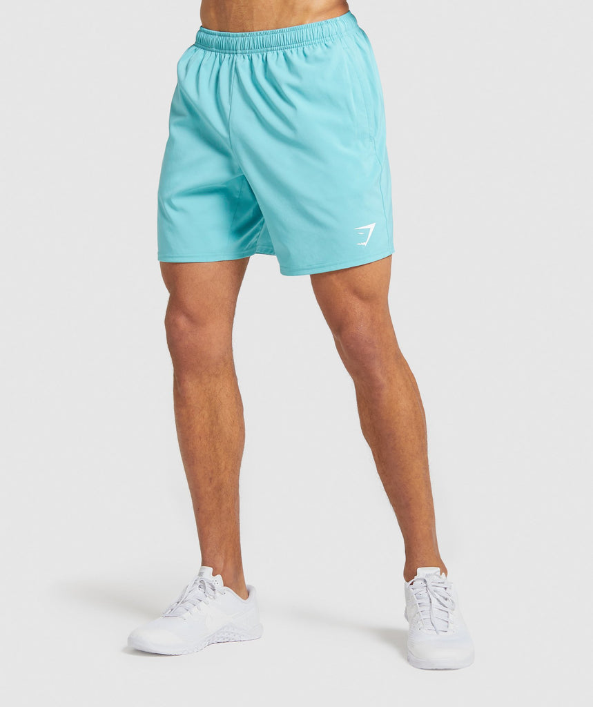 Gymshark Arrival Shorts - Light Blue 1