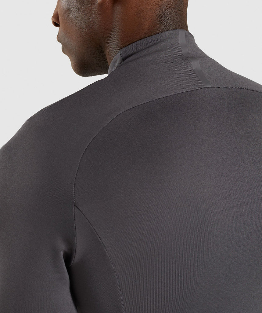 Gymshark Advanced 1/4 Zip Pullover - Charcoal 5