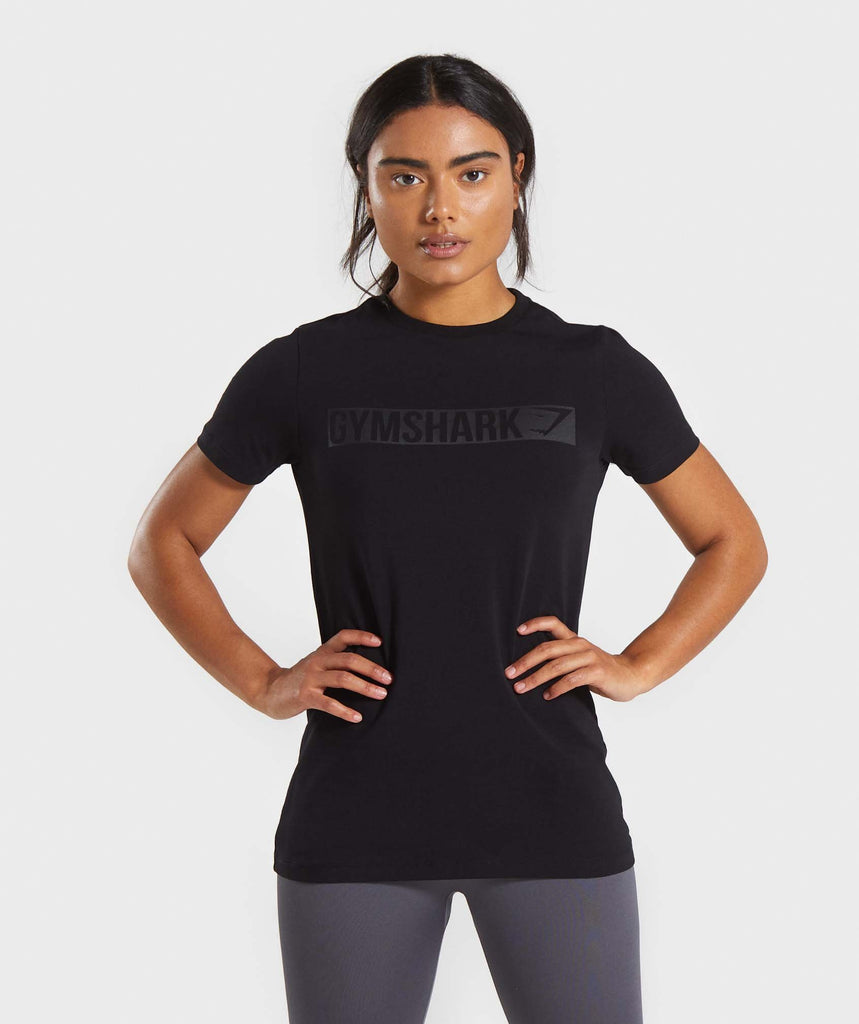 Gymshark Apollo T-Shirt - Black 1