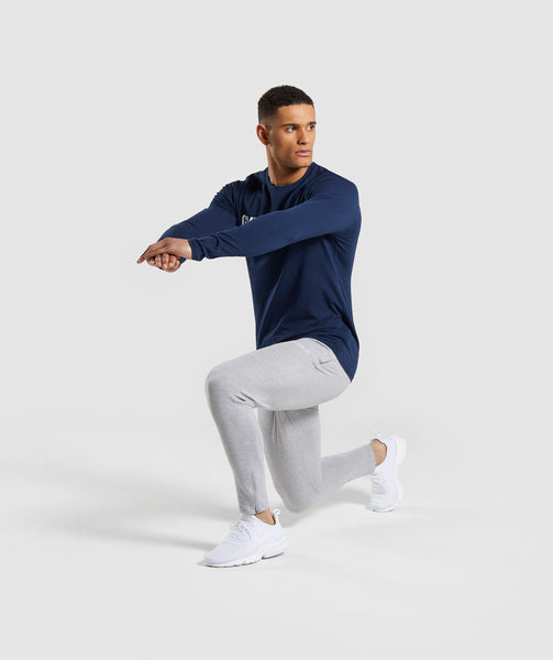 Gymshark Apollo Long Sleeve T-Shirt - Blue 3