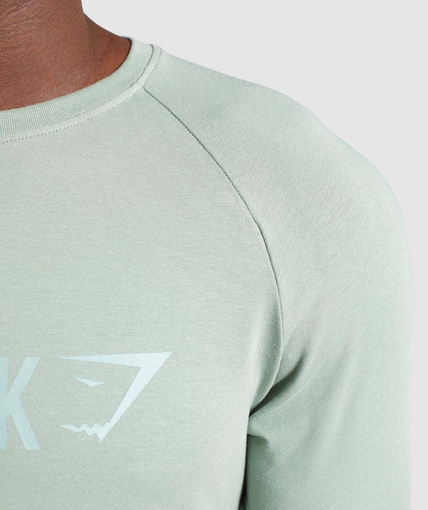 Gymshark Apollo T-Shirt - Pale Green 6