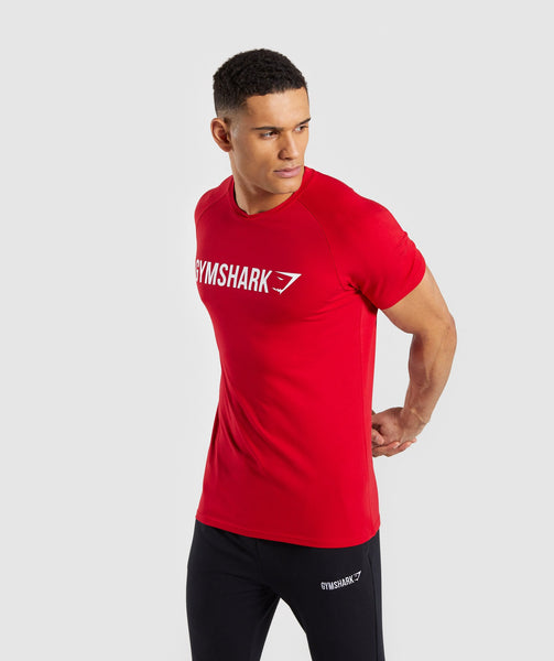 Gymshark Apollo T-Shirt - Red 2