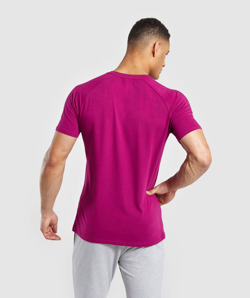Gymshark Apollo T-Shirt - Purple 2