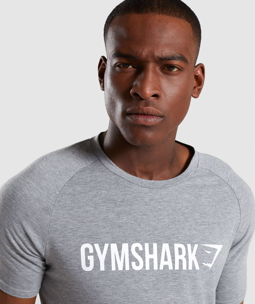 Gymshark Apollo T-Shirt - Grey 5